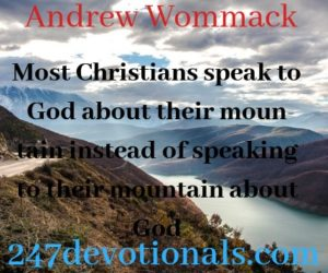 Andrew Wommack devotion