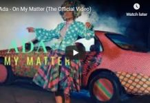 Naija Gospel Song On My Matter by Ada Vidoe+ Lyrics