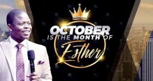 Prophet Shepherd Bushiri October the month of Esther ECG Church