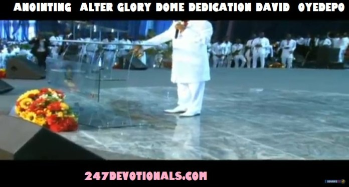 Alter Dedication by Oyedepo