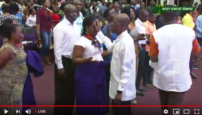 Communion Service (2nd November 2018) ICGC Holy Ghost Temple