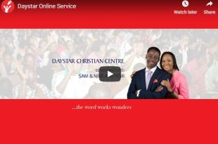 Daystar Online Sunday Service 25 November today