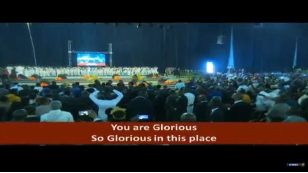Live Ministrations at Glory Dome Abuja