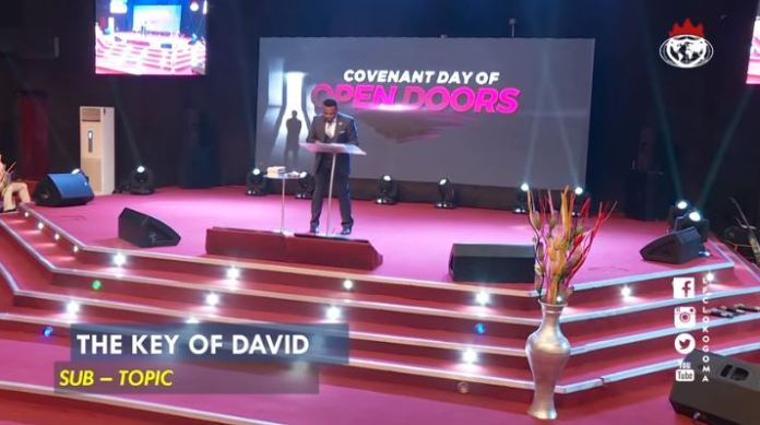 THE KEY OF DAVID ISAAC OYEDEPO