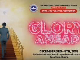 RCCG HOLY GHOST CONGRESS 2018
