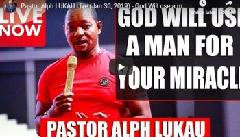 Pastor Alph LUKAU Live (Jan 30 2019)