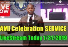 Pastor Alph LUKAU Live (Jan 31 2019)