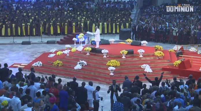 Winners church papa Oyedepo