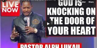 Pastor Alph LUKAU Live Moday (Jan 28, 2019)