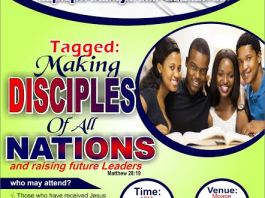 SCHOOL OF DISCIPLESHIP AND LEADERSHIP