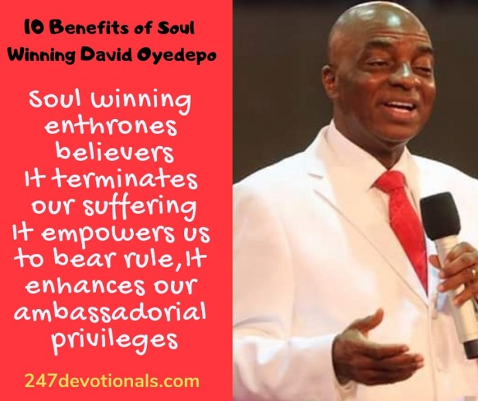 10 Benefits of Soul Winning David Oyedepo