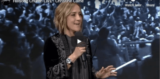 Hillsong Church LIVE - Christine Caine