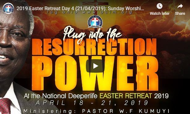W.F. Kumuyi Deeper Christian Life Church Easter Retreat