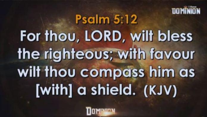 DIVINE FAVOUR BANQUET Psalms 15 12