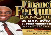 FINANCIAL FORTUNE BANQUET