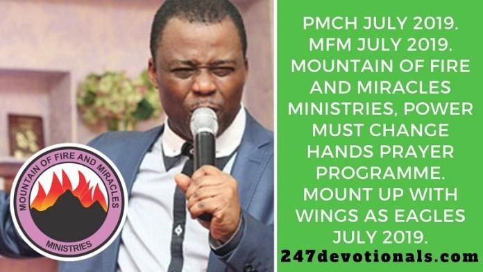 PMCH July 2019. MFM July 2019