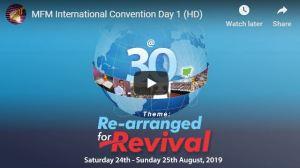 MFM Convention 30th Anniversary
