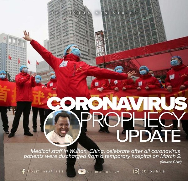 CORONAVIRUS PROPHECY UPDATE Prophet TB Joshua