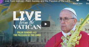 Palm Sunday and the Passion of the Lord by Pope Francis