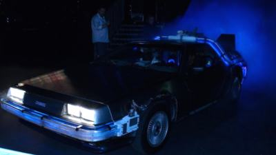 DeLorean Back to the Future - 24/7 EVENTS.NL