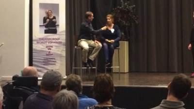 Interview door dagvoorzitter, Congres,organiseren, evenementenbureau Utrecht 247EVENTS.NL