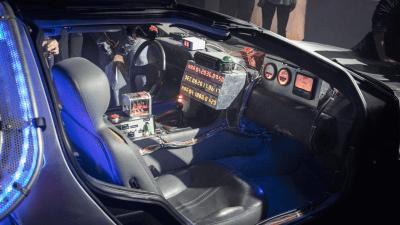 Back to the Future DeLorean huren voor je evenement of bedrijfsfeest