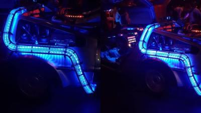 Back to the Future DeLorean LED verlichting