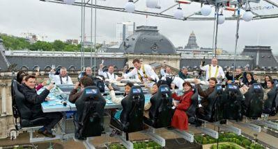 Bedrijfsuitje Amsterdam, Utrecht, Den Haag, Rotterdam - Dinner in the sky, Nederland