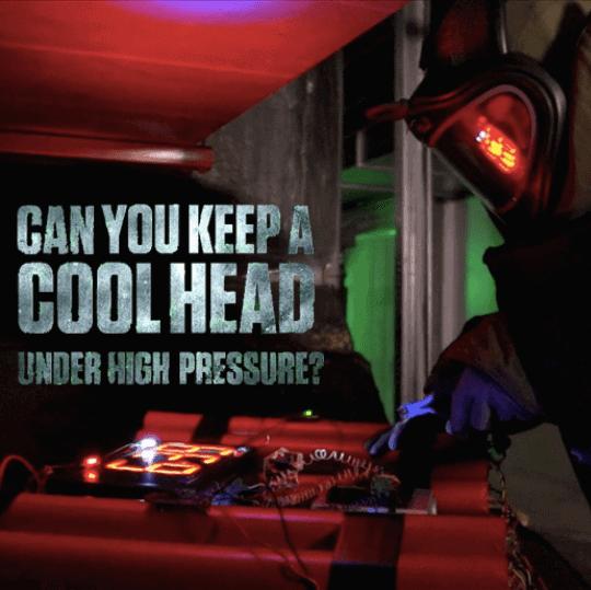Online teamuitje Under Pressure showcase