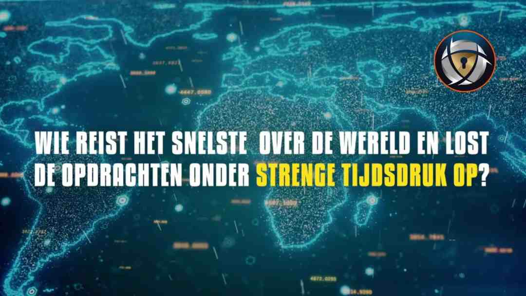 Secret Safe Virtuele teambuilding activiteit reis de wereld over