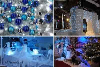 Kerstfeest zakelijk evenement of personeelsfeest met thema Ice Age, Winterwonderland of Frozen afbeelding 1
