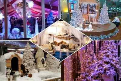 Kerstfeest zakelijk evenement of personeelsfeest met thema Ice Age, Winterwonderland of Frozen afbeelding 3