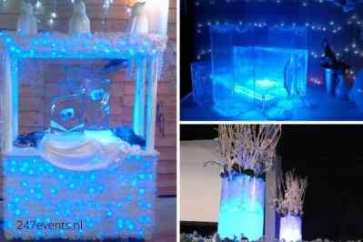 Kerstfeest zakelijk evenement of personeelsfeest met thema Ice Age, Winterwonderland of Frozen afbeelding 6