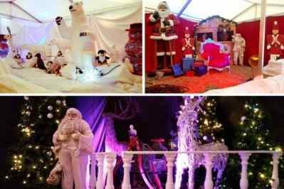 Kerstfeest zakelijk evenement of personeelsfeest met winter thema Christmas Fairy tale galerij afbeelding 10