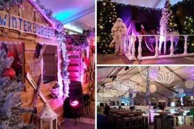 Kerstfeest zakelijk evenement of personeelsfeest met winter thema Christmas Fairy tale galerij afbeelding 11