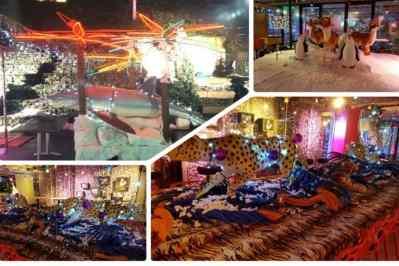Kerstfeest zakelijk evenement of personeelsfeest met winter thema Christmas Fairy tale galerij afbeelding 5