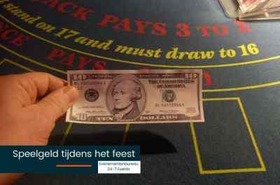 Nepgeld voor een Las Vegas bedrijfsfeest met thema