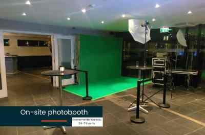 Photobooth huren voor een Las Vegas bedrijfsfeest met thema
