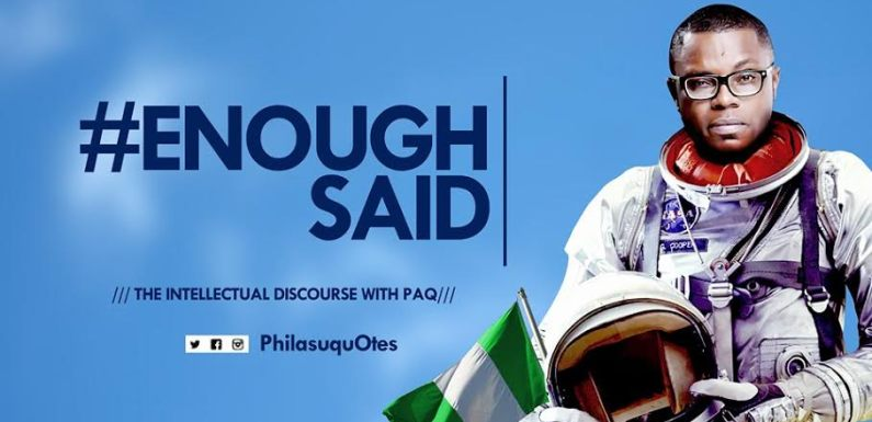 Article :  Does Nigeria have What it Takes to Be a 'Leading Nation' in the Global Space and Future? @philipasuquotes
