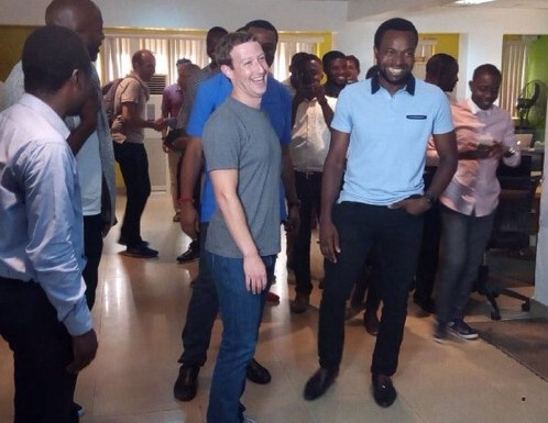 #News : Mark Zuckerberg Arrives In Lagos, Find Out His Purpose.