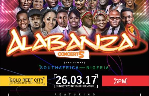 South Africa To Host 2017 Edition of Nigeria Mega Gospel Concert – Alabanza [@Tehilacrew @OfficialEnkay]
