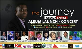 THE JOURNEY ALBUM BY GBENGA SAMUEL