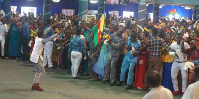 me held @ Mercy City International Warri