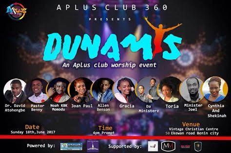#247GvibesEvents: DUNAMIS (an A+ Plus Club 360 Worship Meeting) | (@arkmuzik @aplusclub360 @kbkjnr @joanpaul25)
