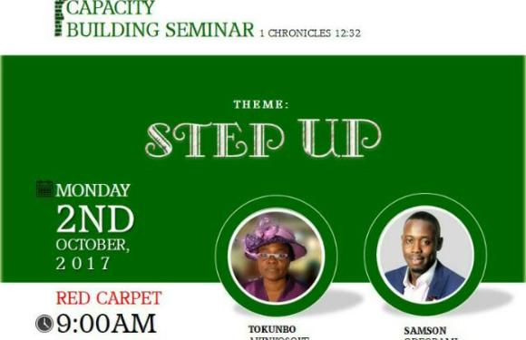 """#247EVENT : FGC ABEOKUTA YOUTHS PRESENTS CAPACITY BUILDING 2017 TAGGED """"STEP UP"""""""