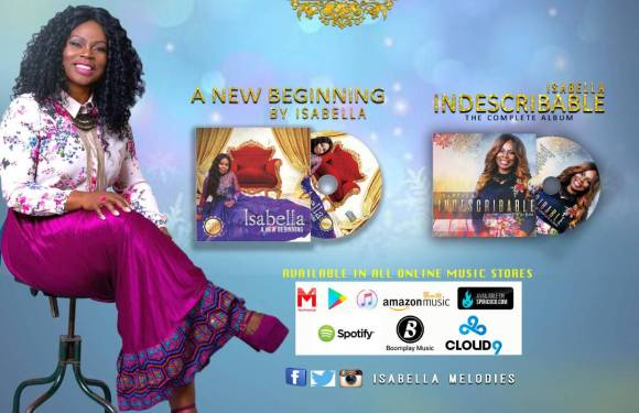 "AWARD WINNING INTERNATIONAL GOSPEL MUSIC MINISTER ""ISABELLA MELODIES"" OPENS UP ON NEW ALBUM"