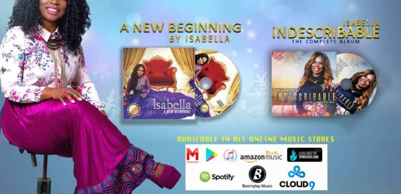 "AWARD WINNING INTERNATIONAL GOSPEL MUSIC MINISTER ""ISABELLA MELODIES"" OPENS UP ON NEW ALBUM"