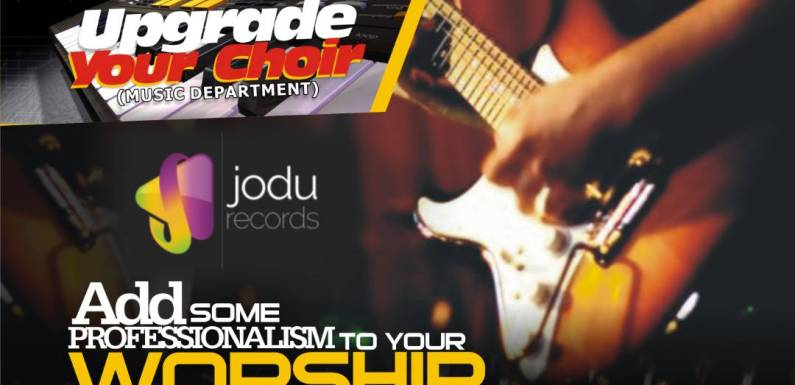 Let JODU Records Upgrade Your Choir & Add Professionalism To Your Music Ministry [@jodurecords @jonasdan2]