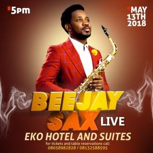 Beejay Sax Live 2018