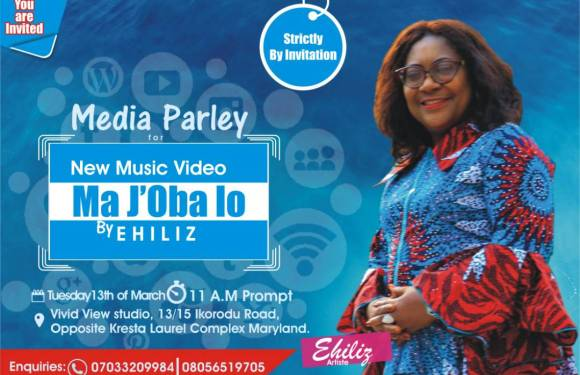 Video Preview, Behind The Scenes + Invitation to Media Parley with Ehiliz for MA J'OBA LO Music Video Premiere